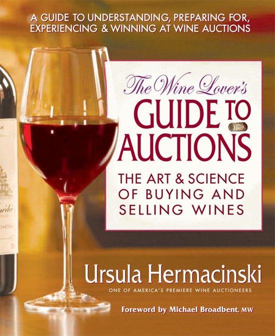 Ursula Hermancinski The Wine Lover's Guide to Auctions E-Books over Wijn