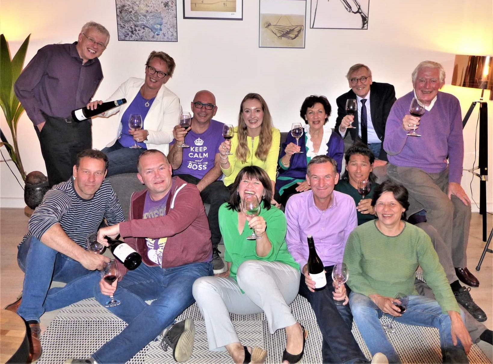 Wijnsessie groep 1