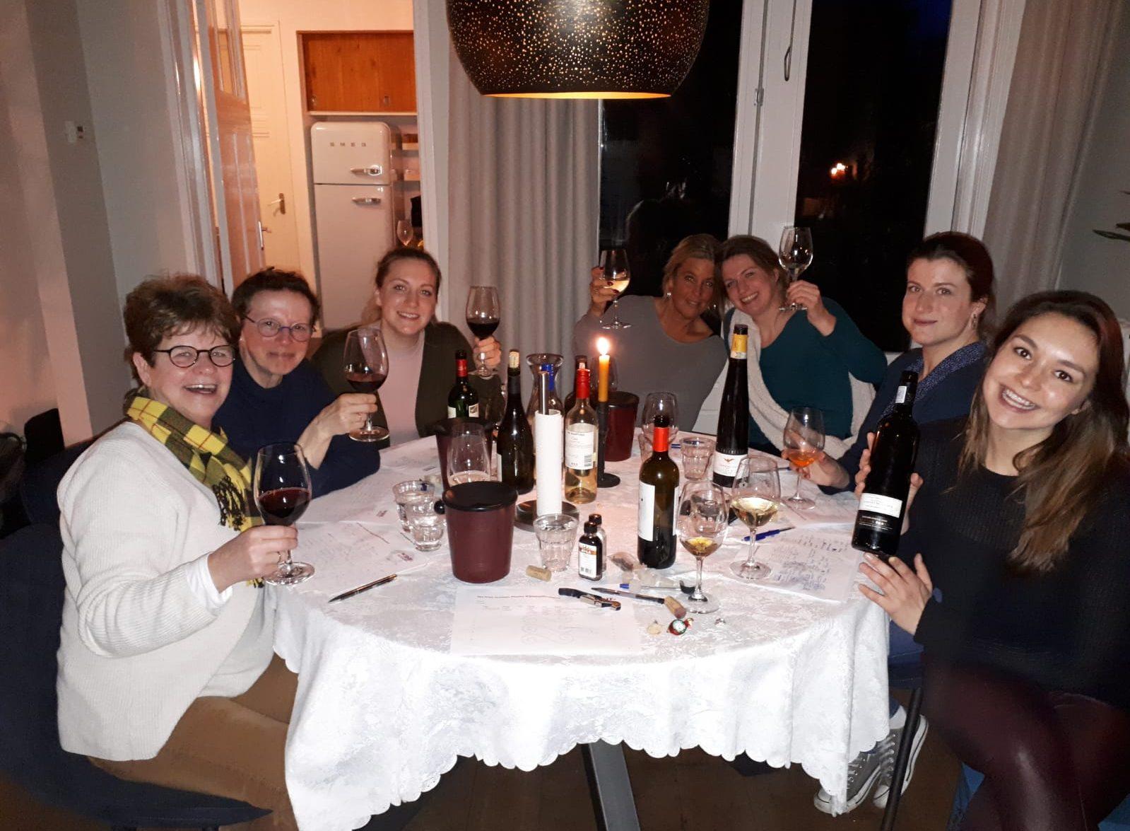 Wijnsessie groep 2