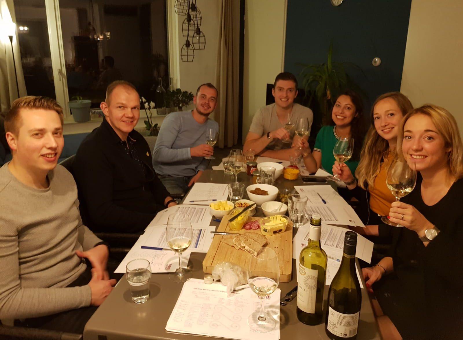 Wijnsessie groep 3