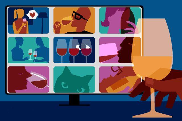 online wijnsessie